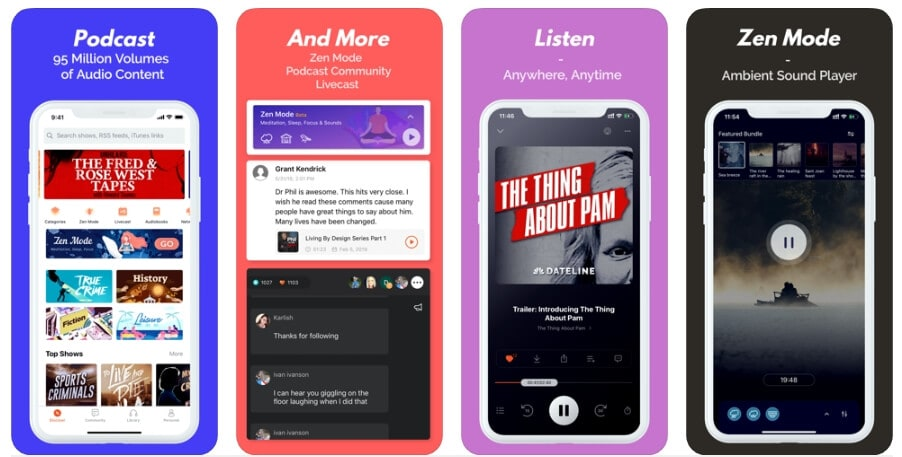 Best Podcast Player App - Castbox