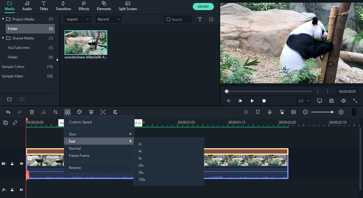 Create Looping GIFs in Filmora