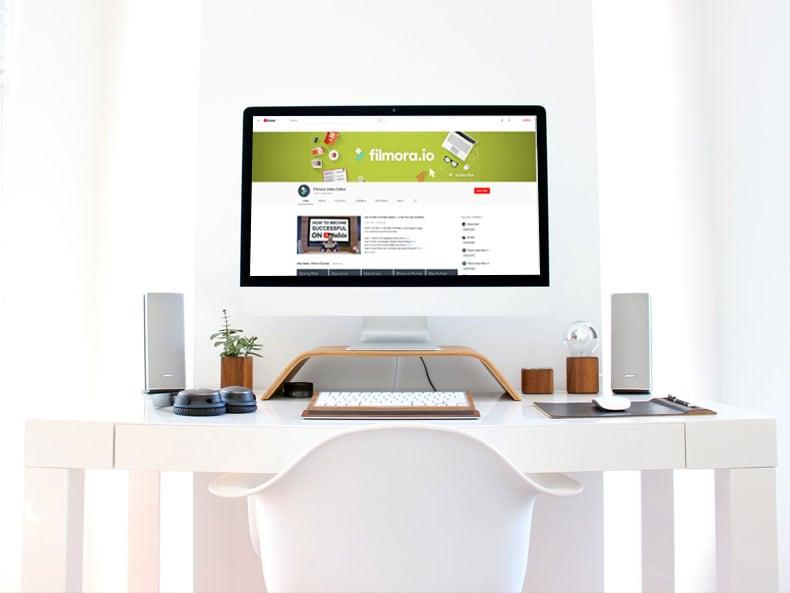 channel art on desktop max
