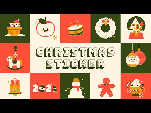 Christmas Sticker Effects from Filmstock