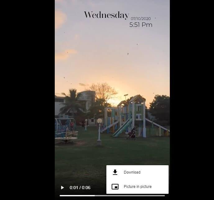 fai clic per scaricare i momenti salienti di Instagram