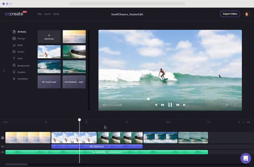 clipchamp frame by frame video editor