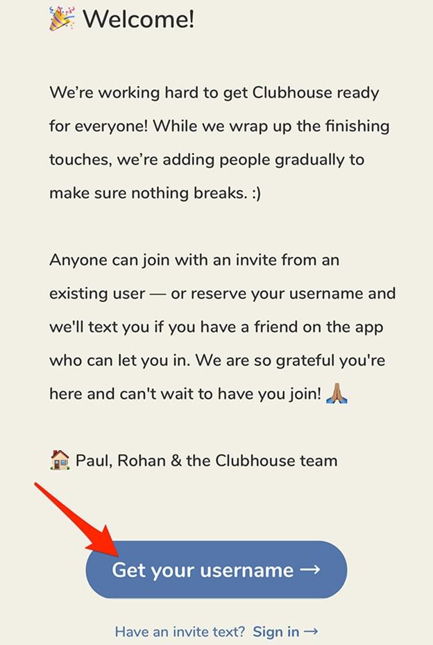 clubhouse-invite