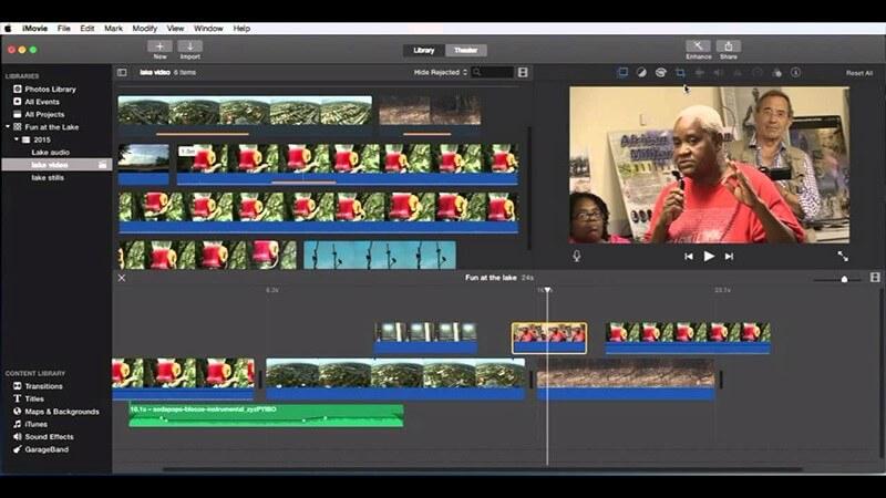 comment changer le format vidéo par imovie