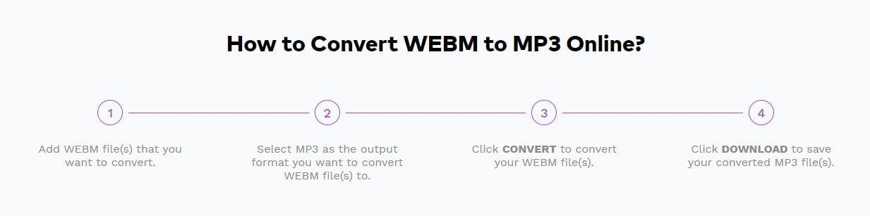 Converta vídeo WebM para MP3 com o UniConverter Online
