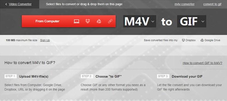 make gif online Convertio