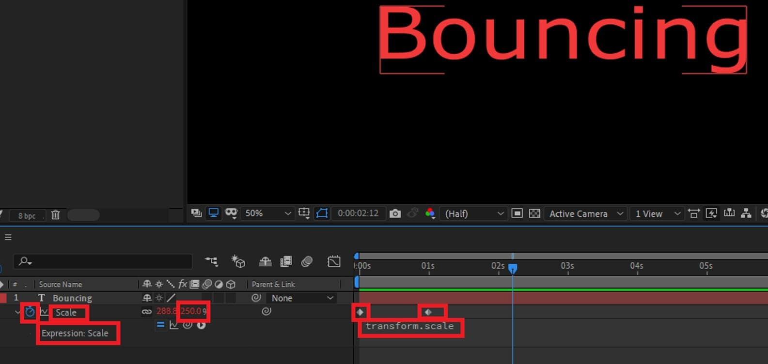Create Text in After Effects with Expressions