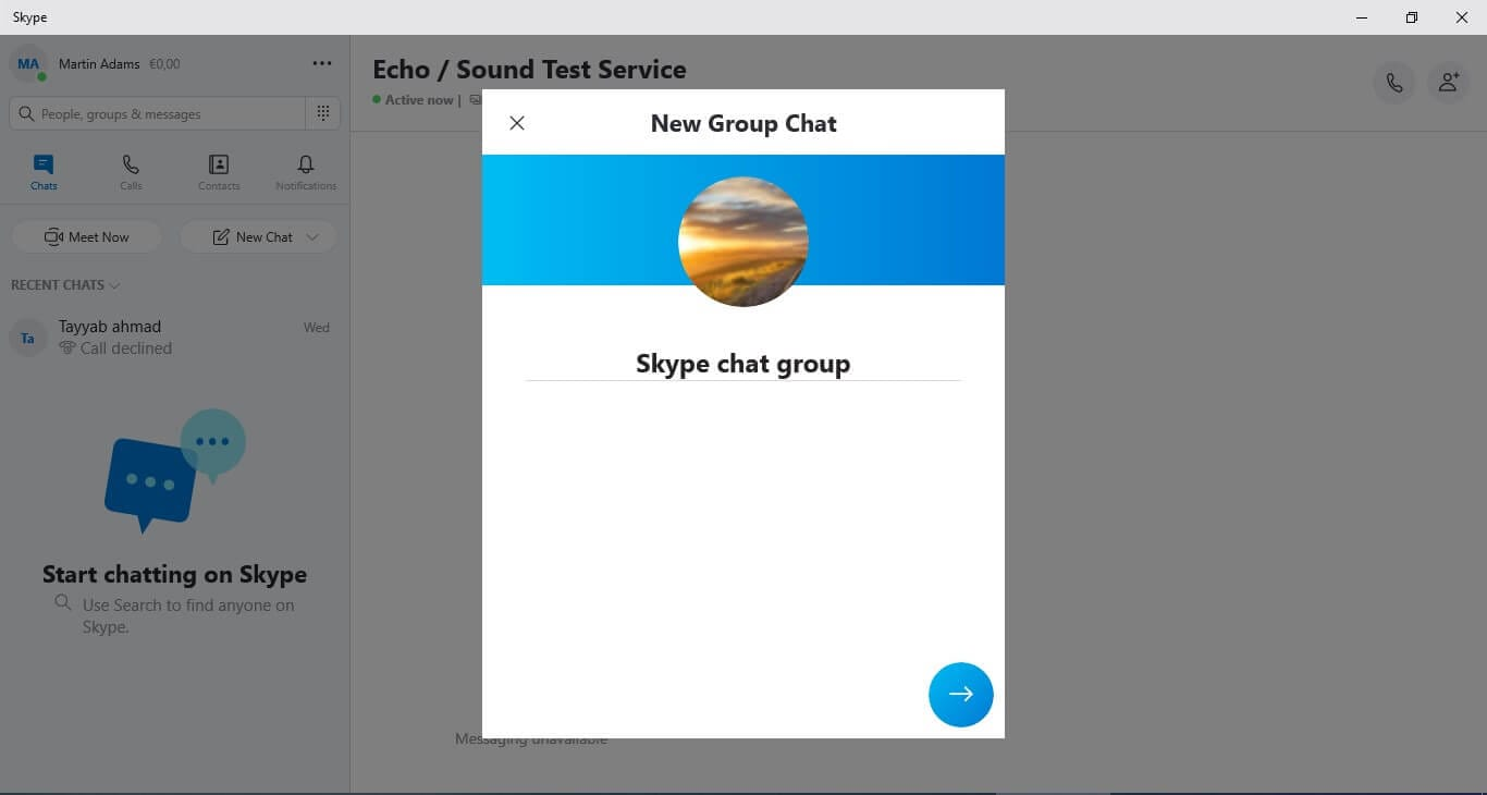 create group name
