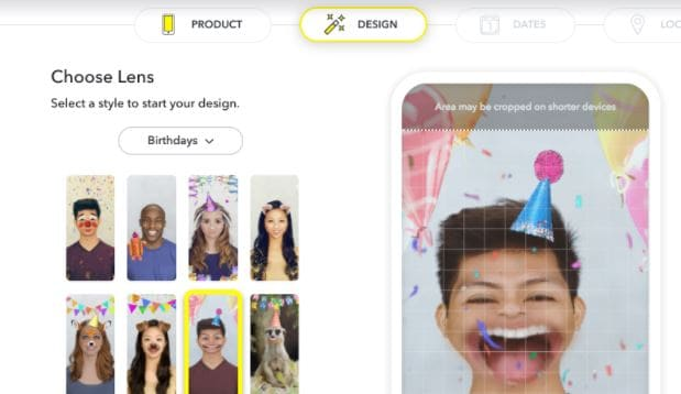 create snapchat