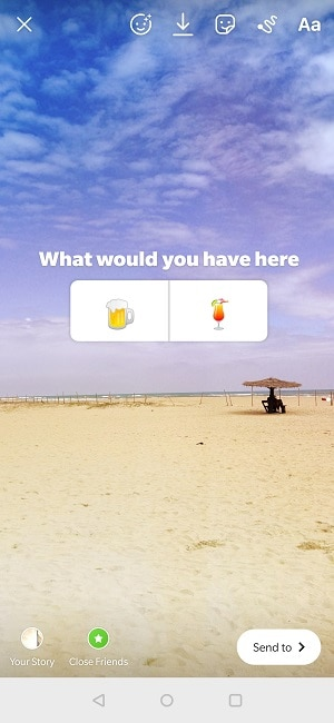 Creative Instagram Poll