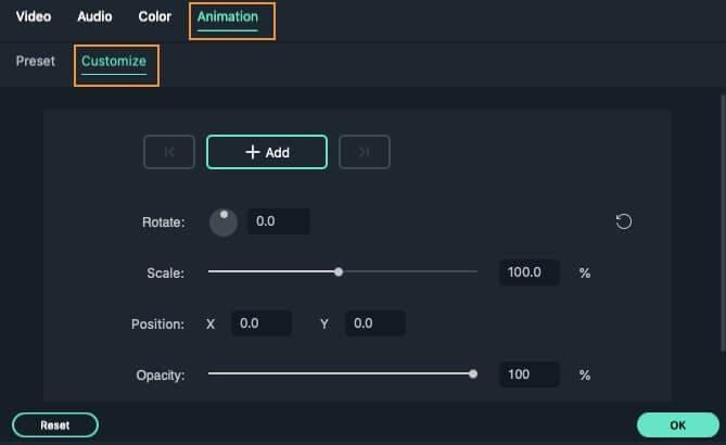 customize-animation-wondershare-filmora-mac