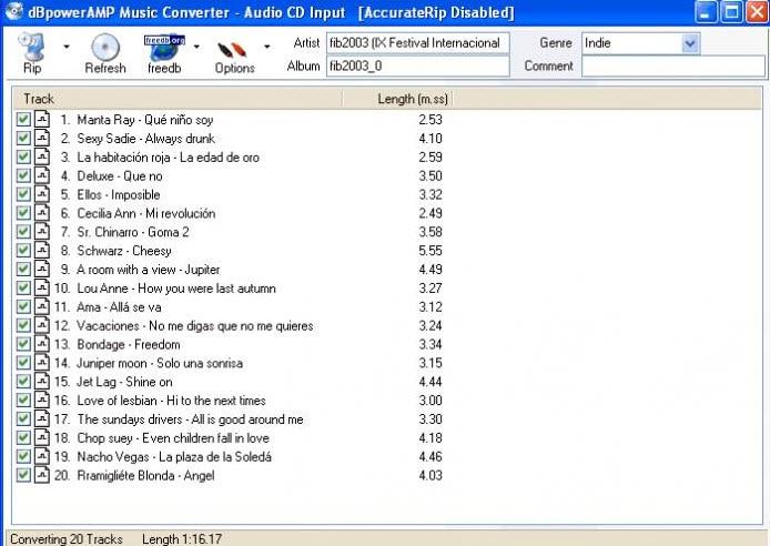 Bpoweramp MP3 Converter