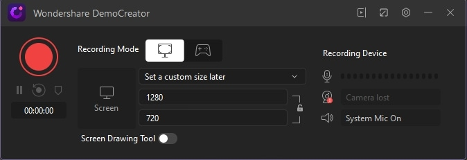 demo-interface