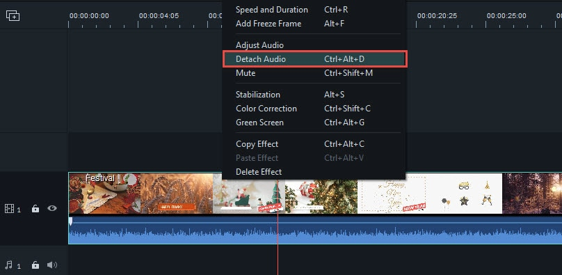 remove audio track from mov