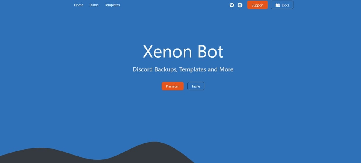 Discord  Bot Xenon