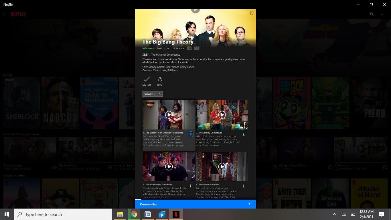 Display Downloading Progress