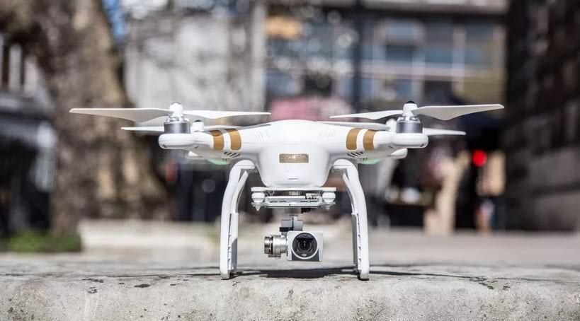 drones dji phantom 3 pro avec le temps de vol le plus long