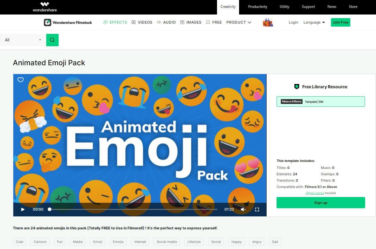 download animated emoji pack