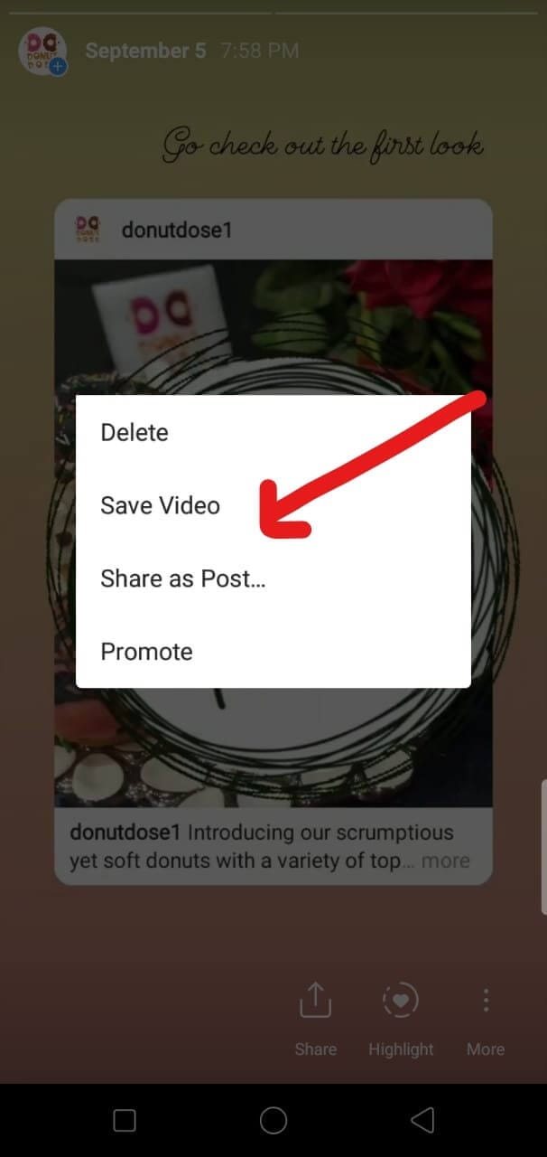 download instagram highlights as