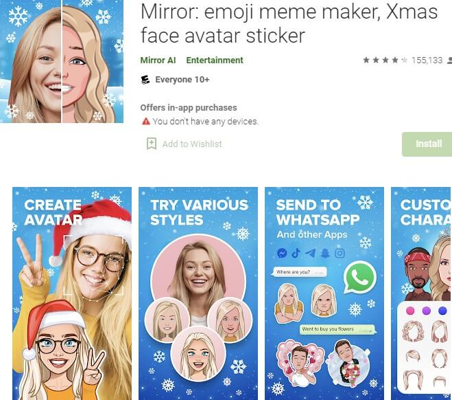 Download Mirror Emoji App