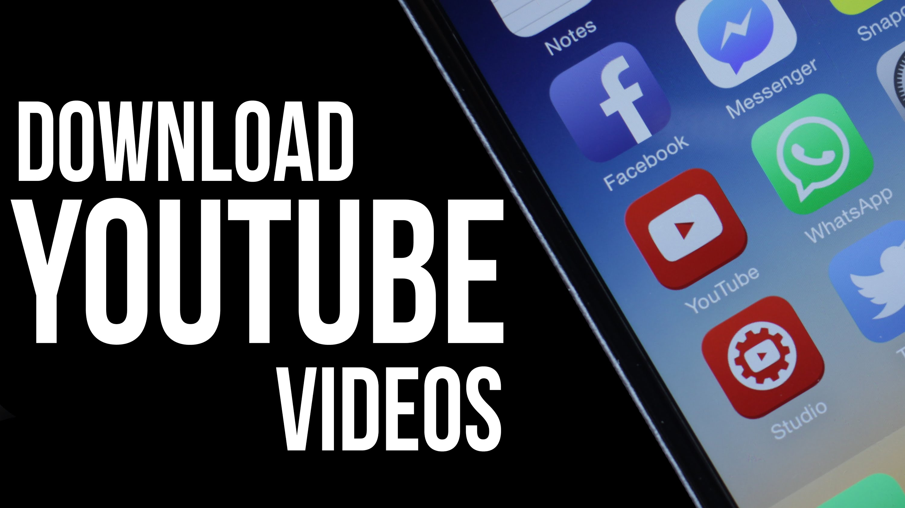 A complete guide to downloading youtube videos to iphone or ipad depending on the app you are using the download may begin immediately after tapping on the download icon or there can be another step which will perhaps ccuart Choice Image