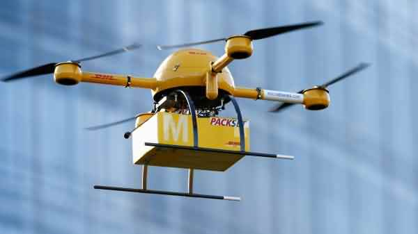 drones in delivery