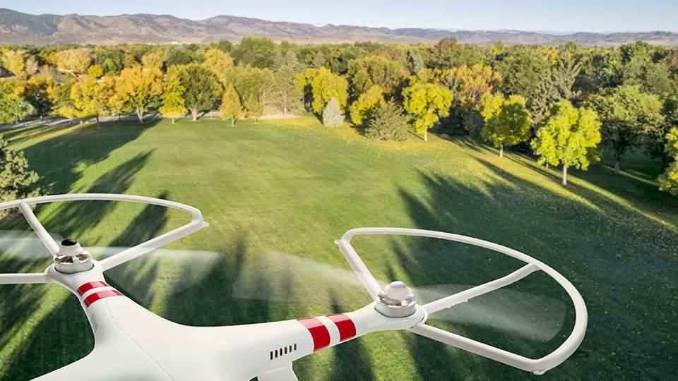 drones in photography