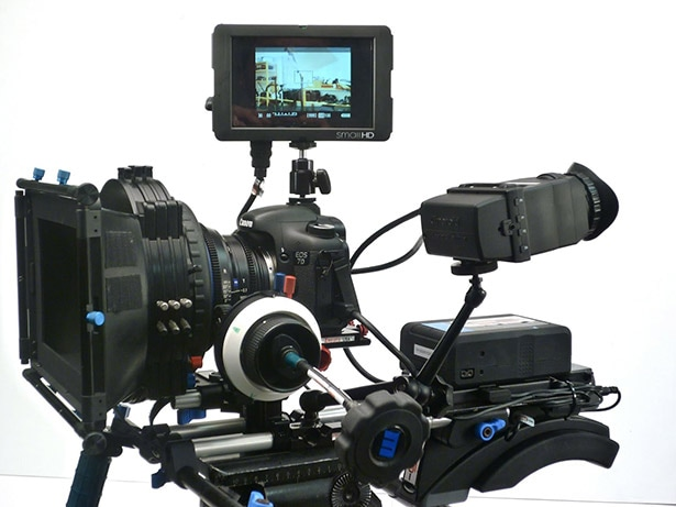 DRSL video camera