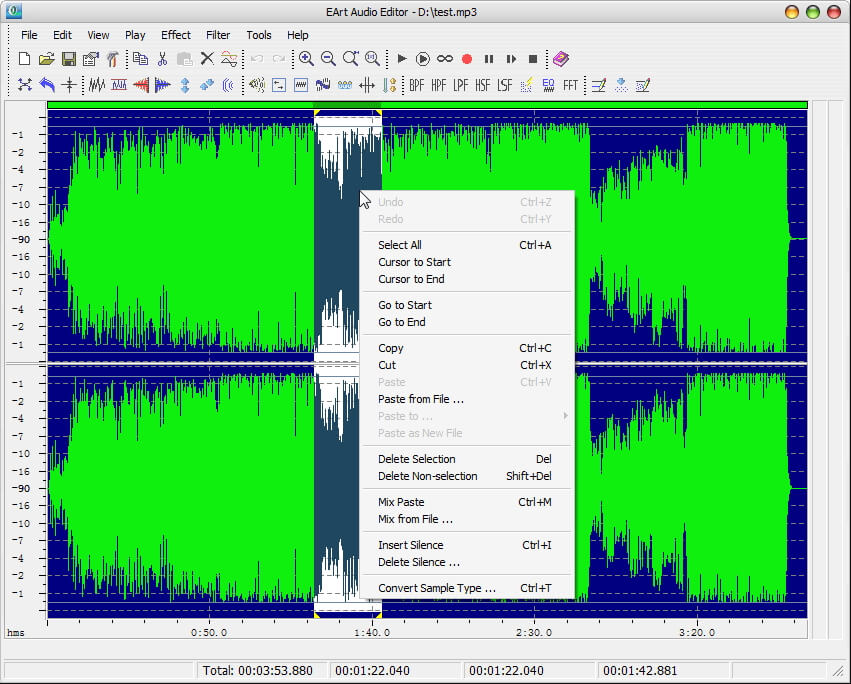 MP3 Joiners EArt Audio Editor