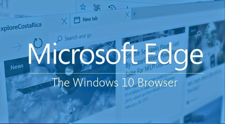 Neuer Edge Browser von Windows 10
