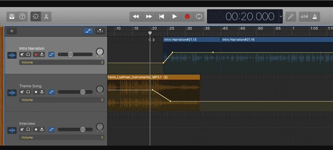 Edit Podcast Garageband
