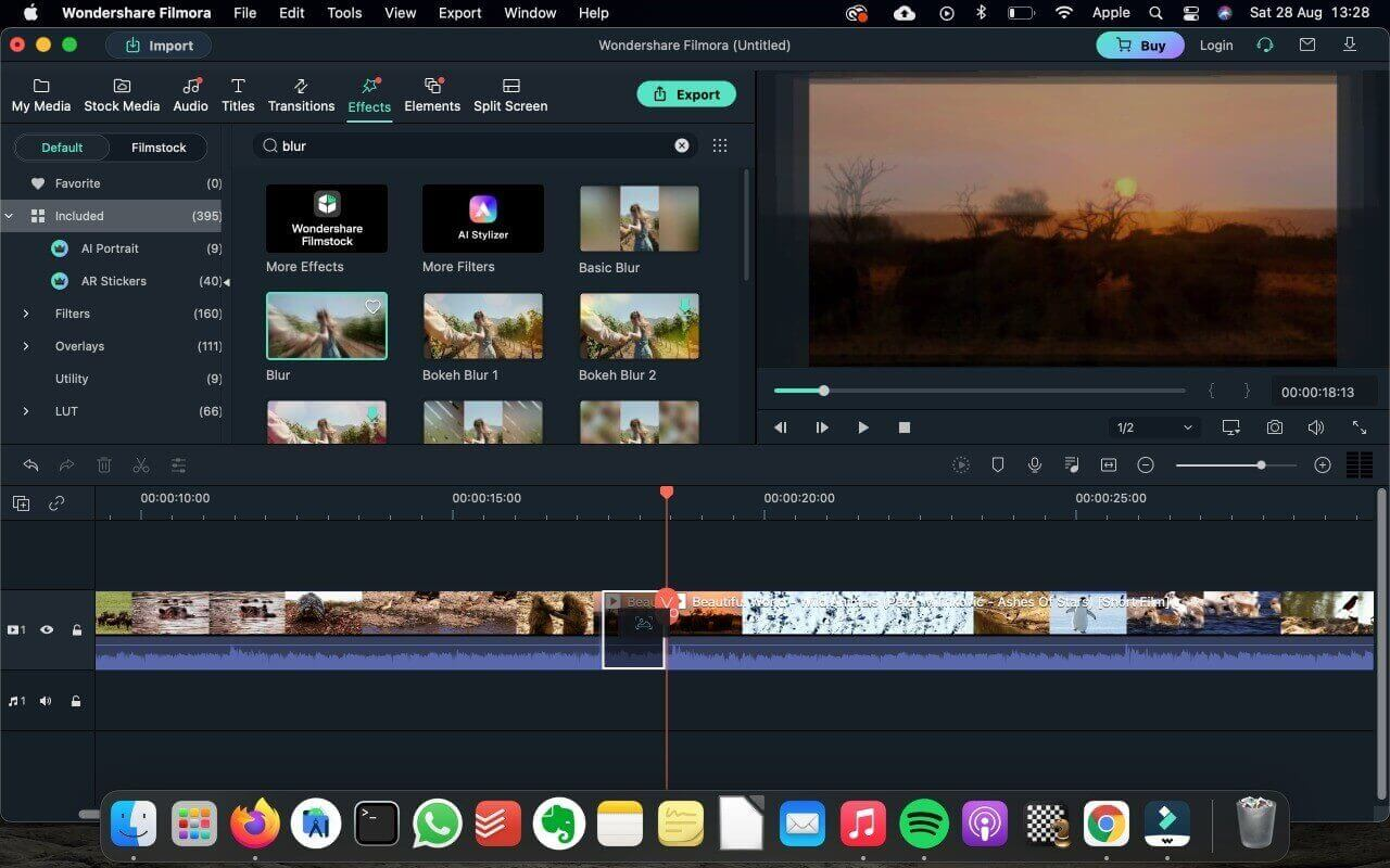 edit video with Filmora