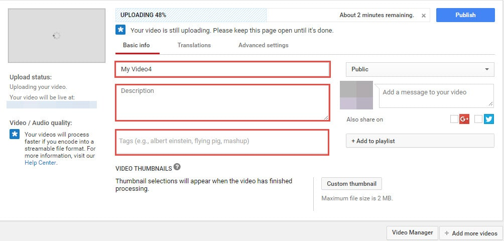 How to Optimize YouTube Tags/Title/Description for More Views