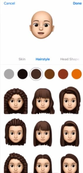 Emoji Hairstyle