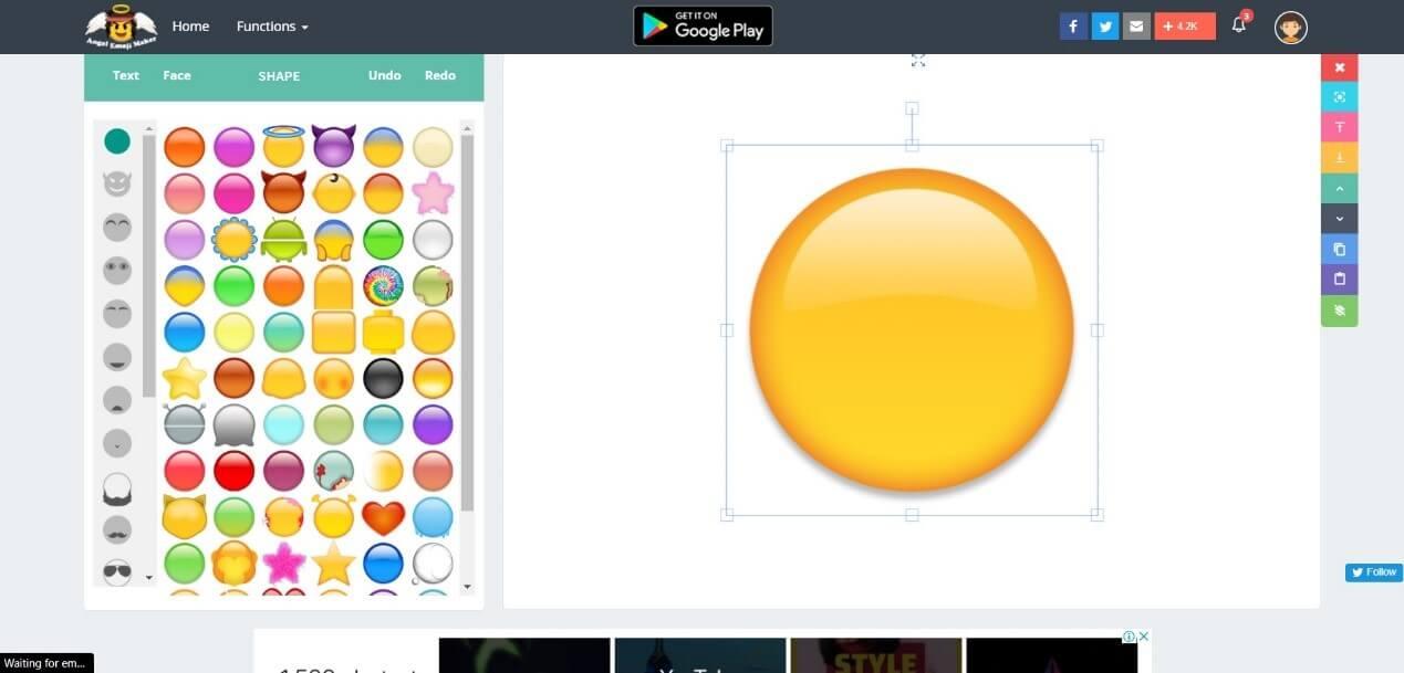 Emoji Maker Website
