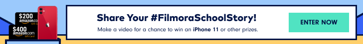 Filmora9 School Story Slideshow Video Contest