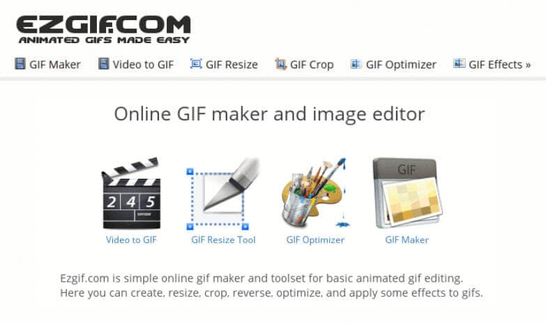 Top 20 best free gif makers online ezgif animated gif maker is one of the most popular online gif creator tool with little complicated user interface that is spread into multiple pages with negle Gallery