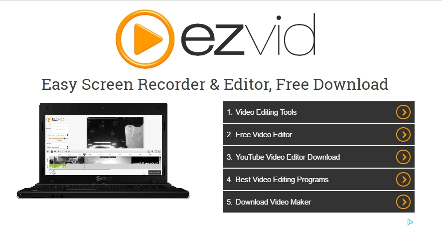 Ezvid for Windows interface