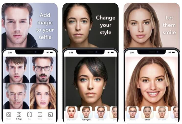 Change Gender with FaceApp