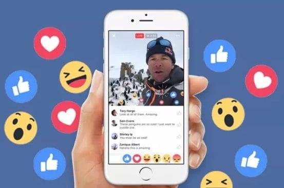facebook algorithm change live video