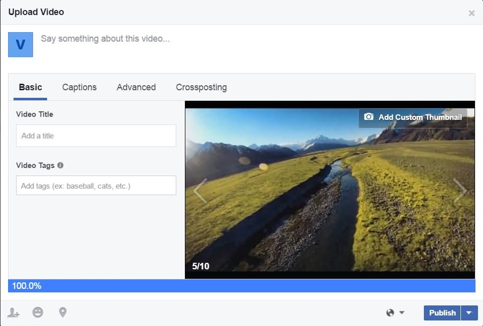 How To Create And Change Video Cover On Facebook