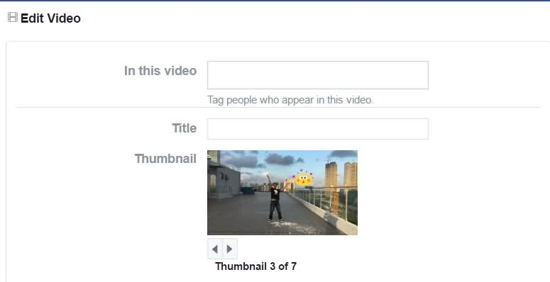 facebook video thumbnail