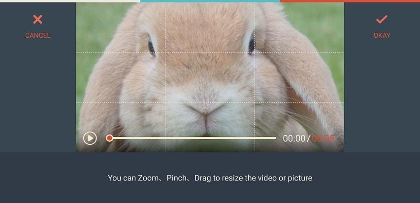 Filmora Go Crop&Zoom
