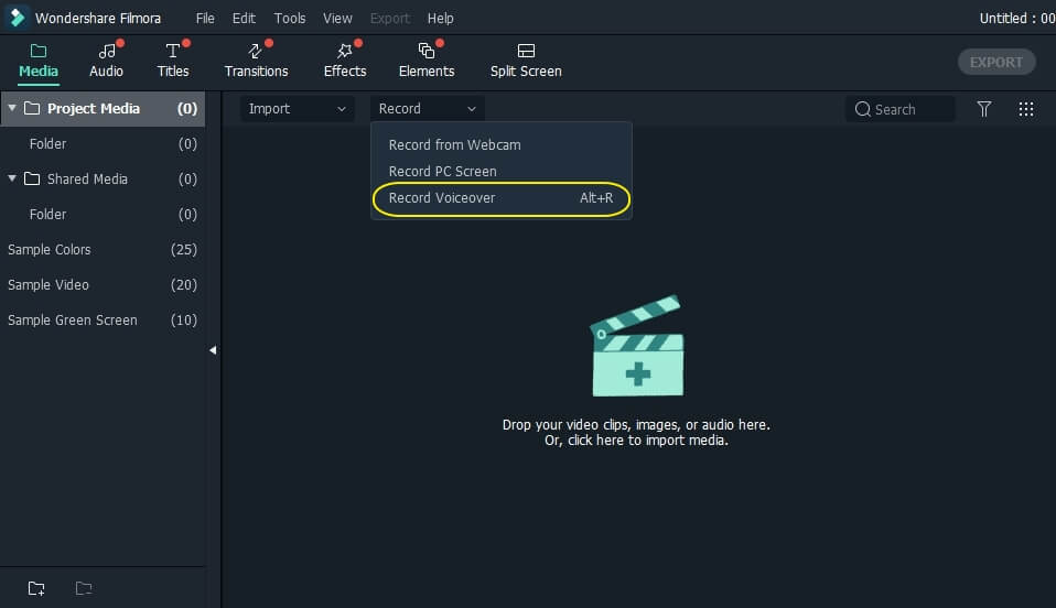 filmora-screenrecording-button