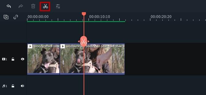 filmora trim mp4 file