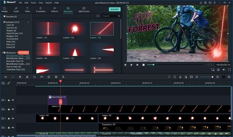 Filmora9 Movie Trailer maker