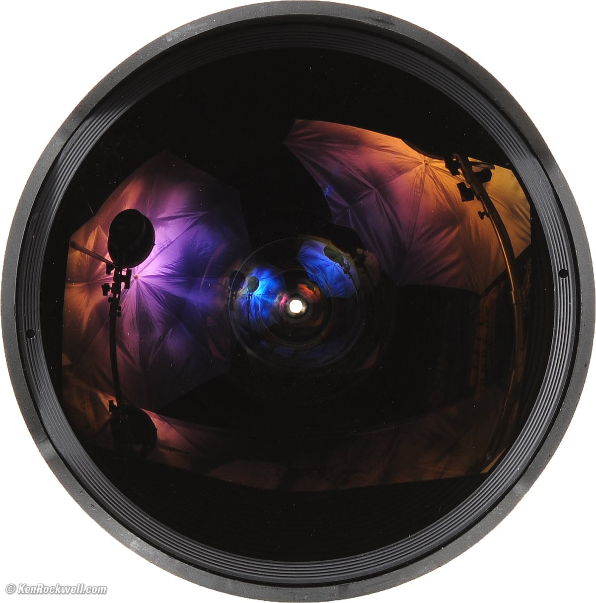 create 360 photos with fisheye lens
