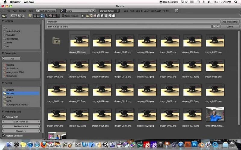 filmmaterial aufnahme für kamera tracking in blender2.8
