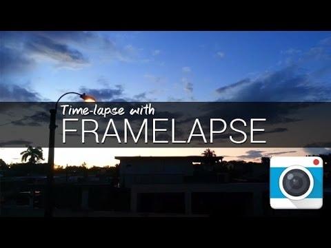 framelapse mobile editing