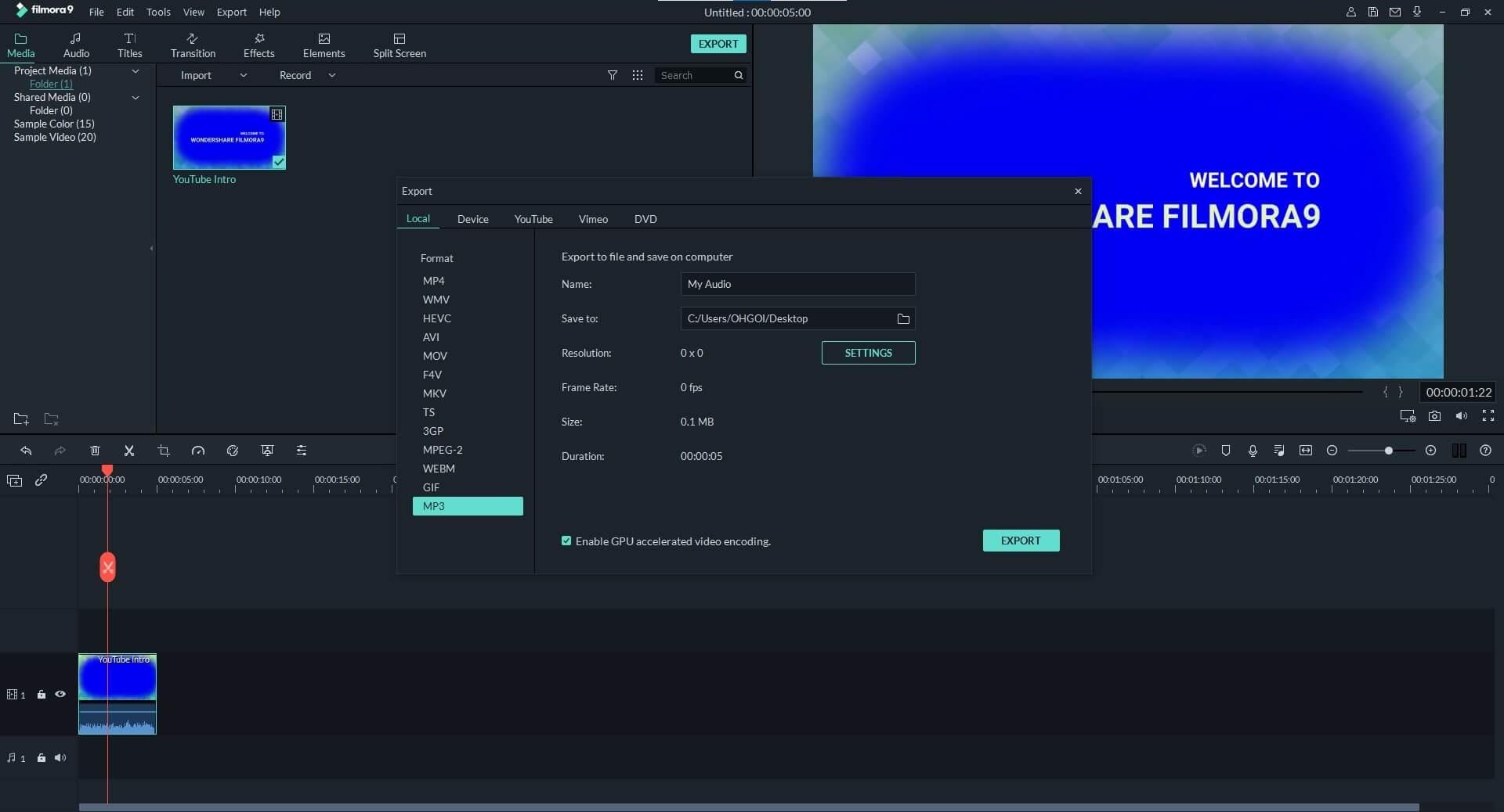 Video to Audio Converter - Wondershare Filmora